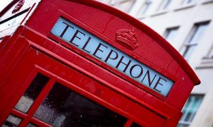 Telephone box image