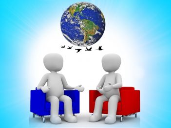 Earth meeting image