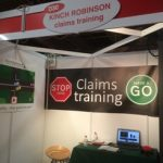 Demo at show of our free motor claims liability training