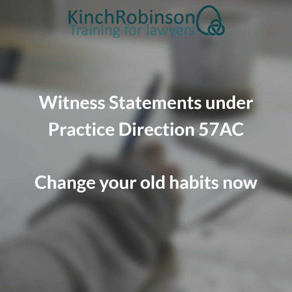 solicitors reading Practice Direction 57AC