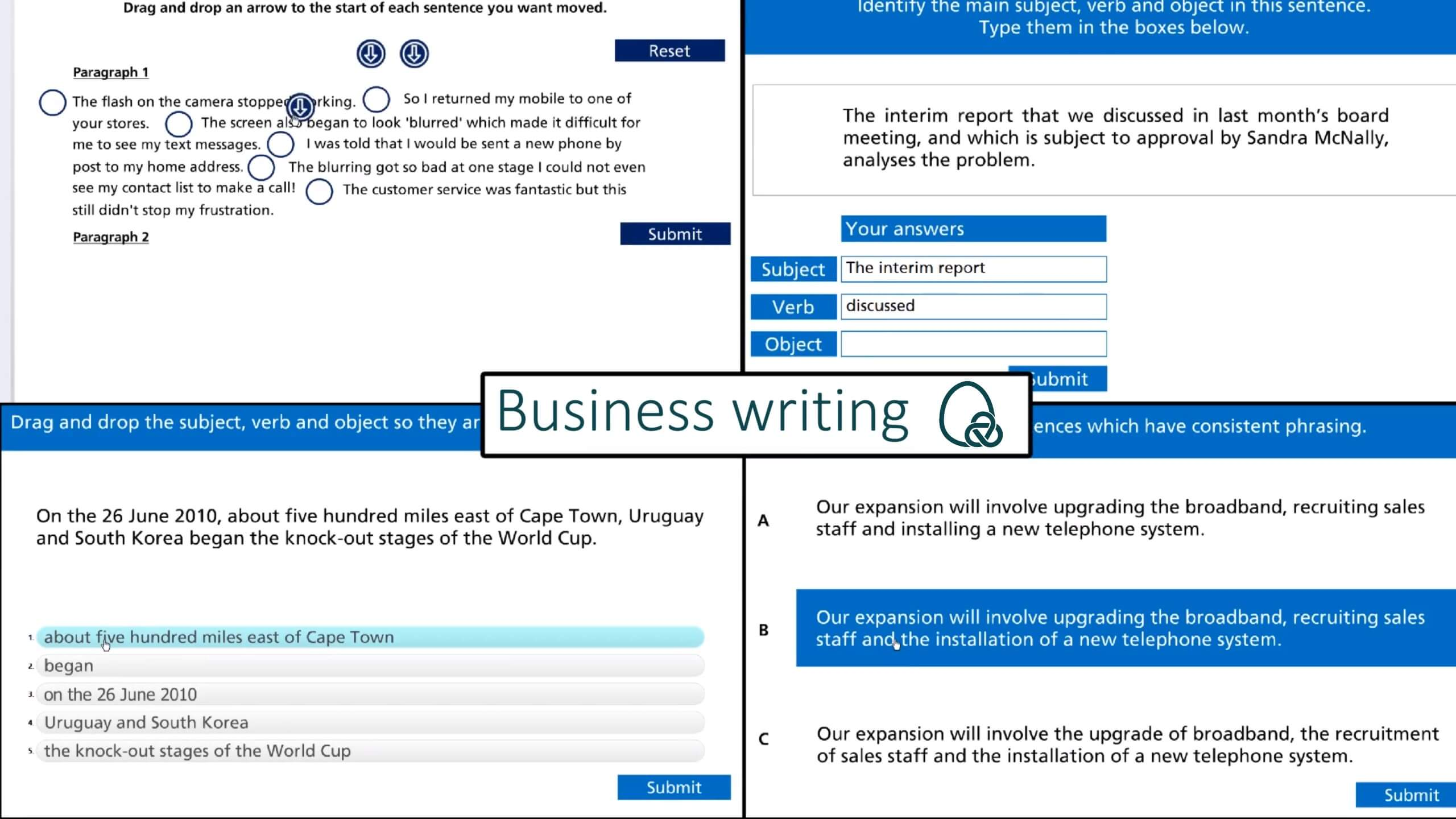 business writing for lawyers screenshot and trailer