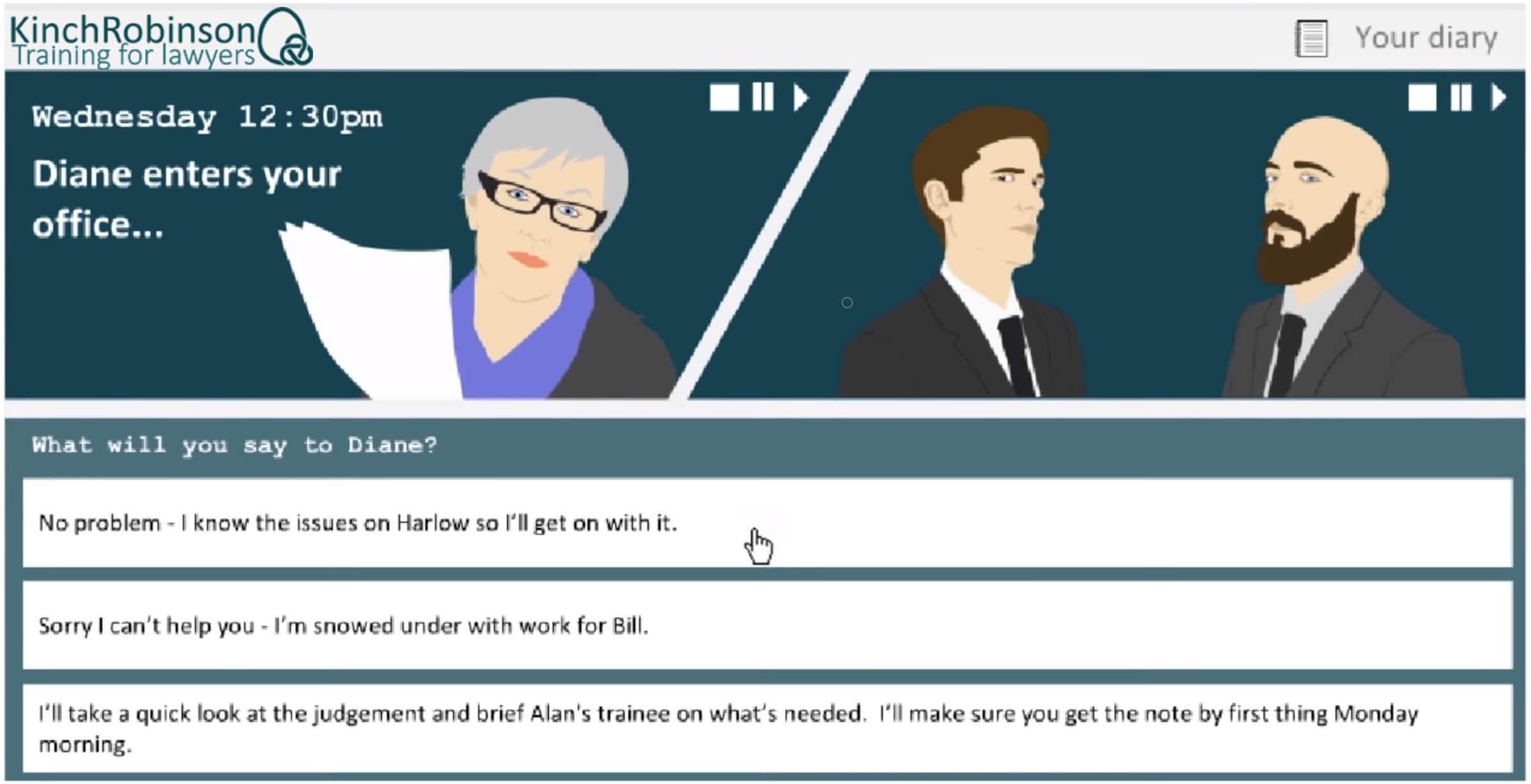 delegation training for lawyers screenshot